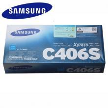 三星CLT-C406S靛青色粉仓 CLP-366W CLX-3306FN SL-C460FW墨粉盒