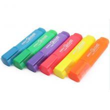 宝克荧光笔MP-460 水性颜料单头6色标记笔