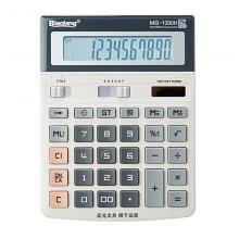晨光商务办公计算器屏幕角度可调整大号台式桌面型计算机MG1200H