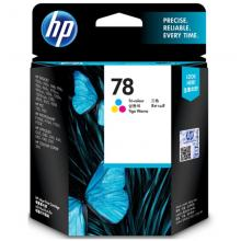 惠普45 78黑色彩色墨盒适用710c;830c;850c;1280c C6578DA 78彩色(约560页)